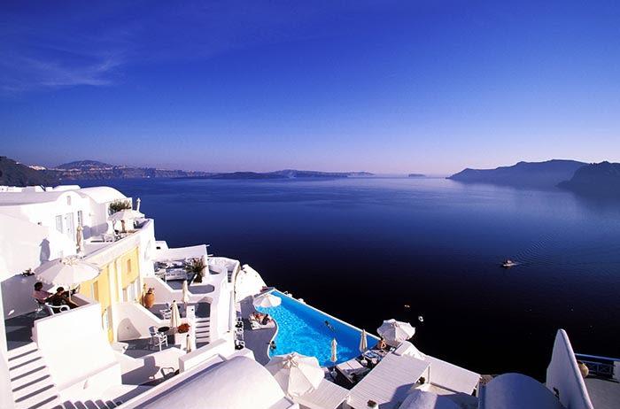 isla de santorini en grecia