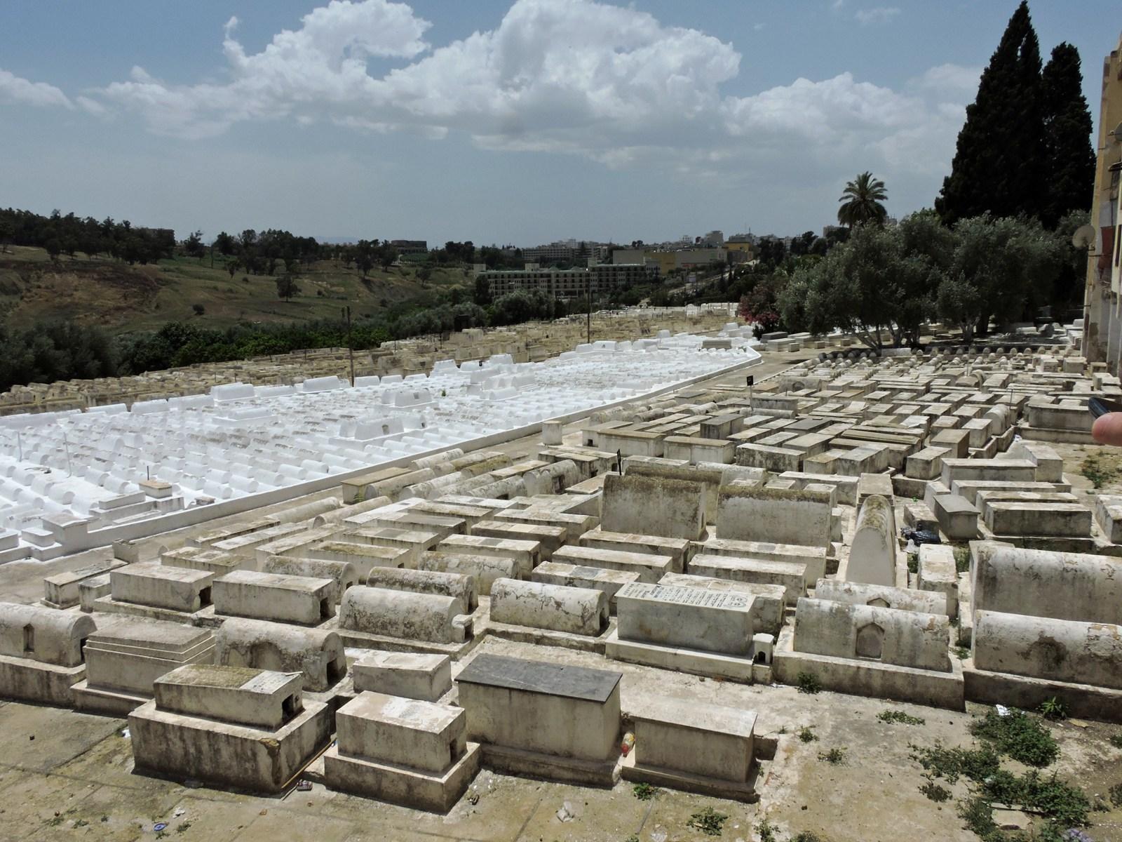 La Mellah, cimitero ebraico