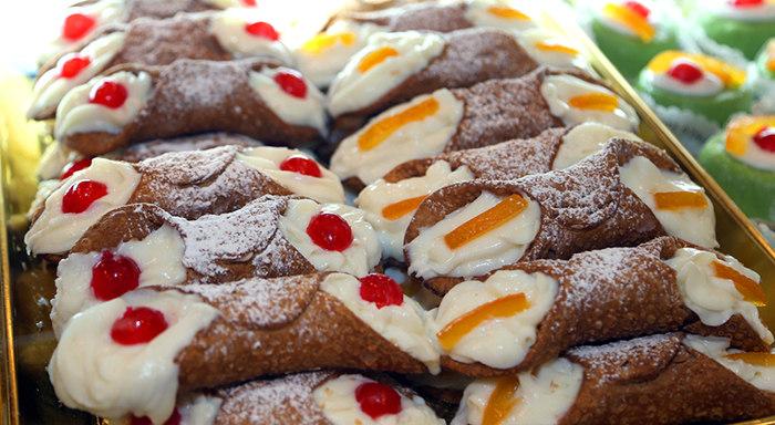 Palermo: pasteles