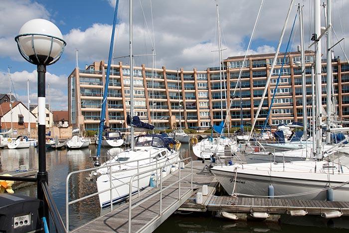 Port Solent (c) Mark Maguire via Portsmouth City Council