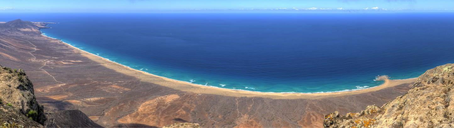 Playa de Cofete en Fuerteventura canarias