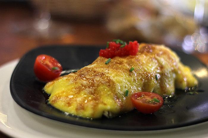 Guía gastronómica de Sevilla: crepe de bacalao
