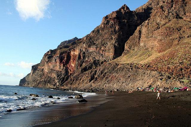 playa del ingles en la gomera islas canarias