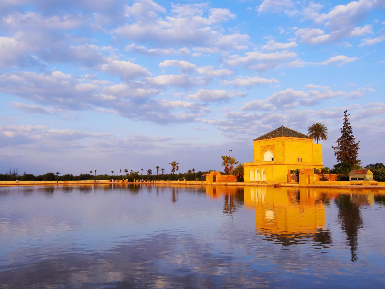 Histoire - Jardin Saadien des jardins de Menara à Marrakech