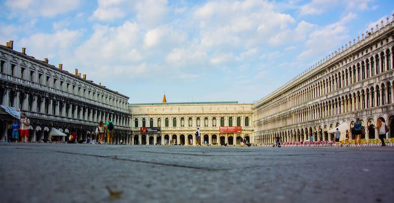 san marcos plaza en Venecia