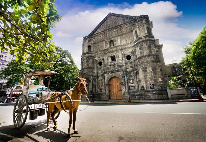Qué ver en Manila iglesia malate