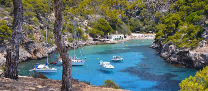 Cala en Palma de Mallorca