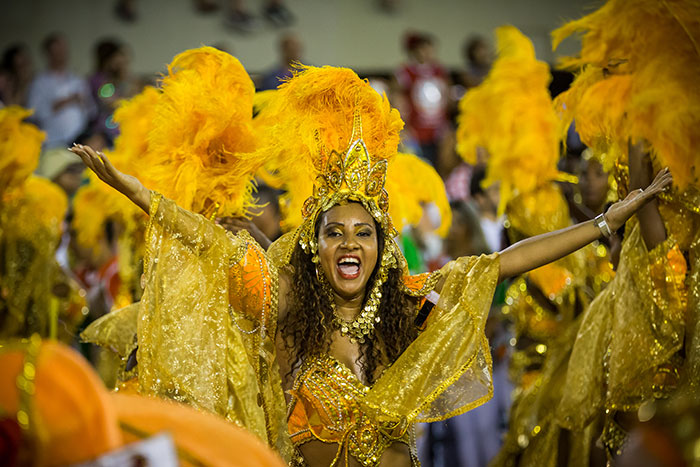 Rio Carnival. Image by nateClicks, via Flickr Creative Commons