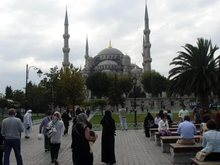Qué ver en estambul : mezquita azul