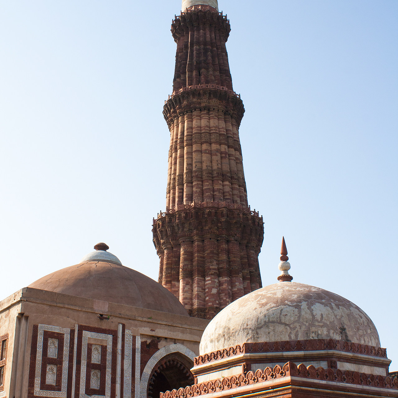 Minarete de Delhi, La India