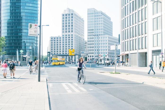 Berlín en bici