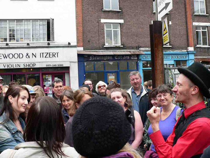 Hackney Tours on Stoke Newington High Street