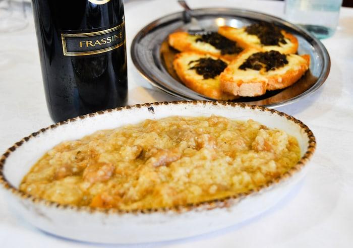 Lacquacotta plato tipico de la region