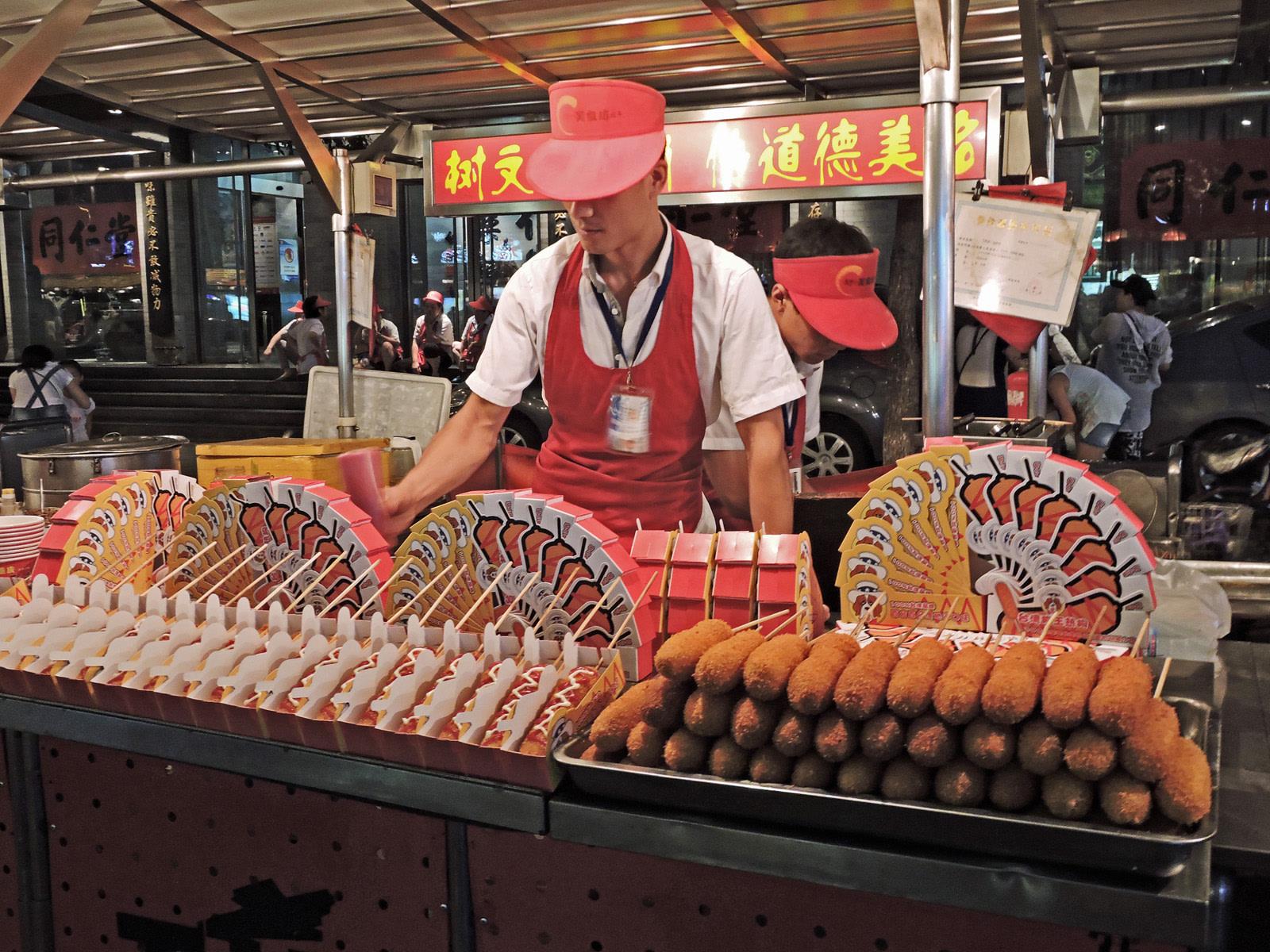 Donghuamen night market, Pechino, Cabiria Magni