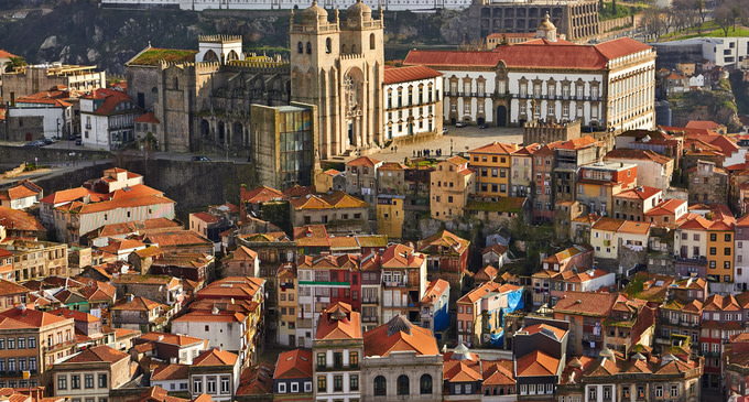 vista di Porto dall'alto