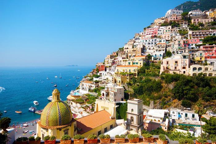 positano pueblo de la costa amalfitana italia