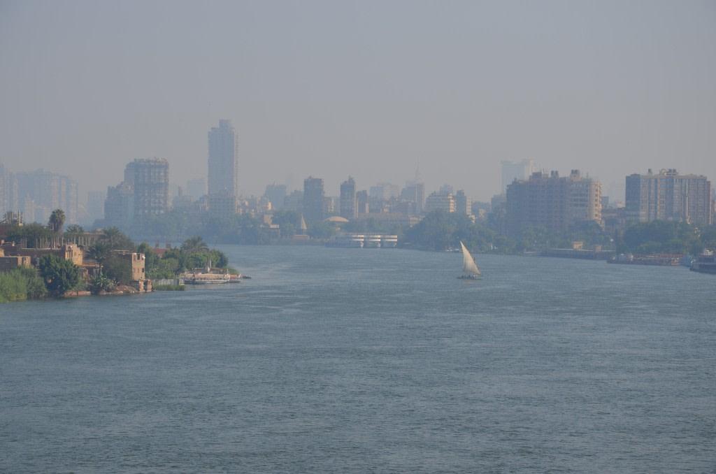 Il Nilo al Cairo