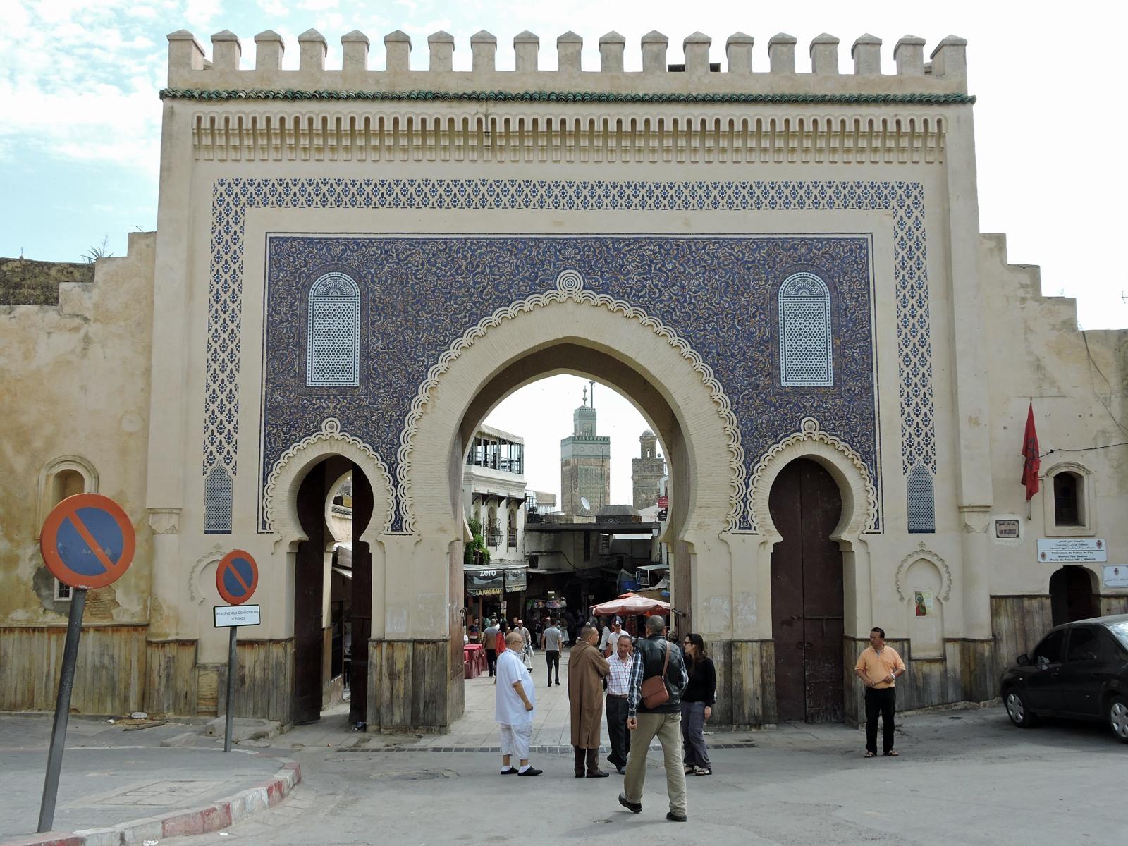 Fes, la porta d'ingresso alla Medina