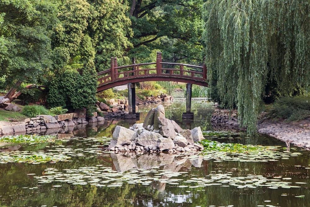 Breslavia - I giardini giapponesi
