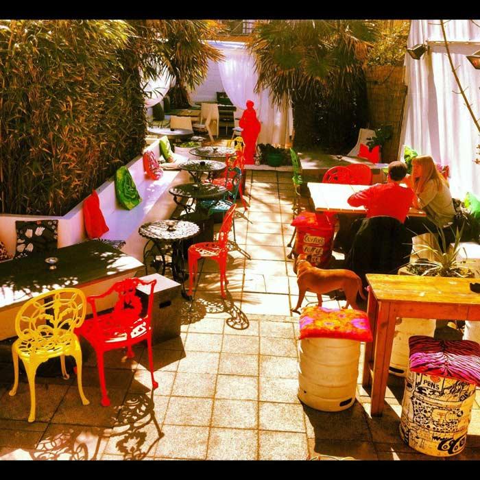 Neighbourhood's beer garden