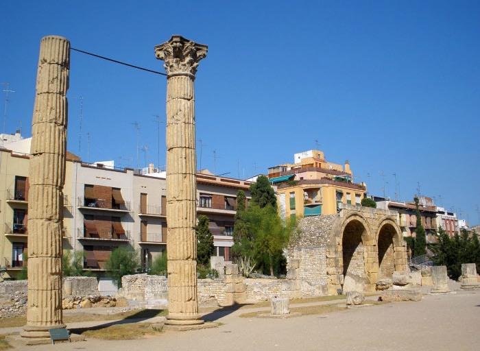 Foro Romano de Tarragona.