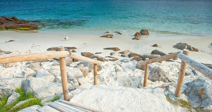 Playa islas Cies, Pontevedra