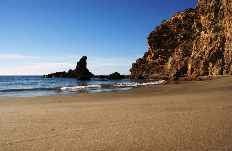 playas vírgenes: Cala Chicrél.