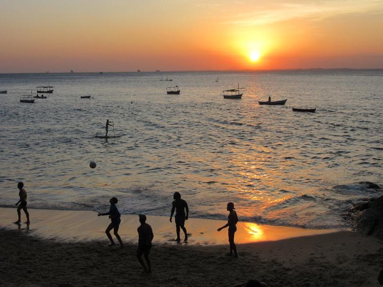 Salvador de Bahía: atardecer porto da barra