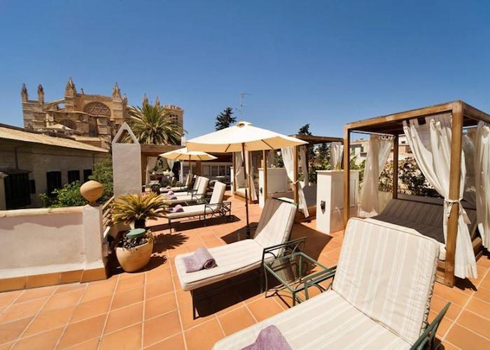 hotel que admite mascotas: Ca Sa Galesa, un cinco estrellas espectacular en Palma de Mallorca.