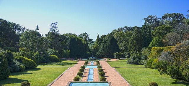 Qué ver en Oporto: fuente de los Jardines de la Fundación Serralves en oporto