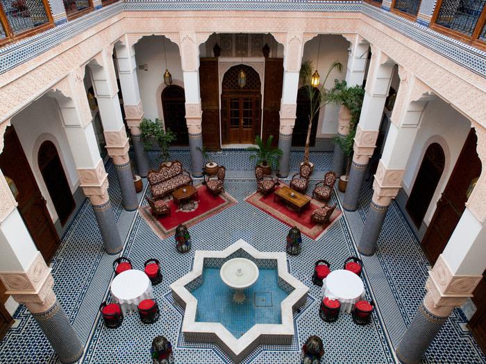 Marruecos interior riad