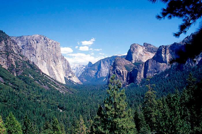parque nacional de yosemite california estados unidos
