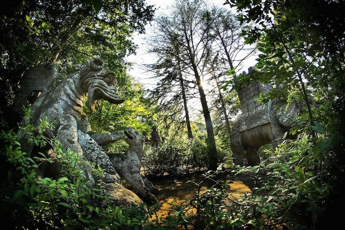 Jardín de los monstruos Bomarzo