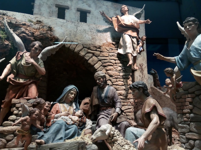 Madrid: Belén de Navidad