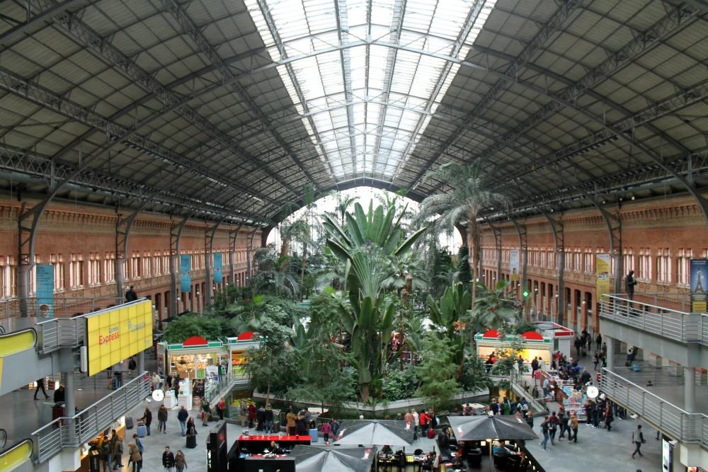 Giardino nella Stazione di Atocha