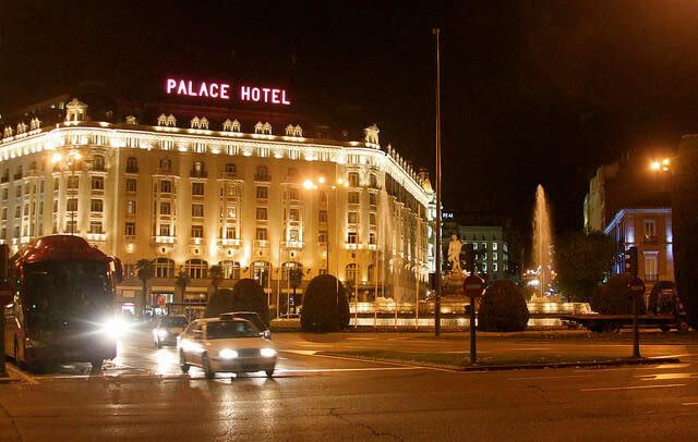 hotel clásico en madrid el palace