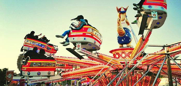 Madrid con niños: parque de atracciones
