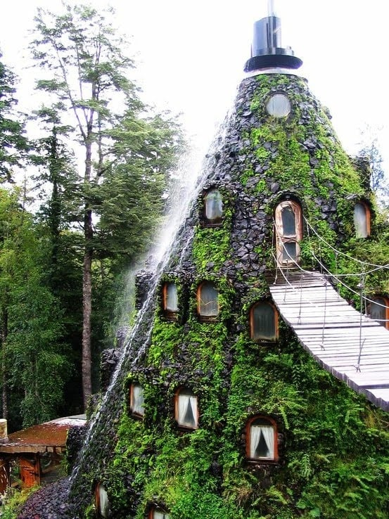 Eco hotel cileno