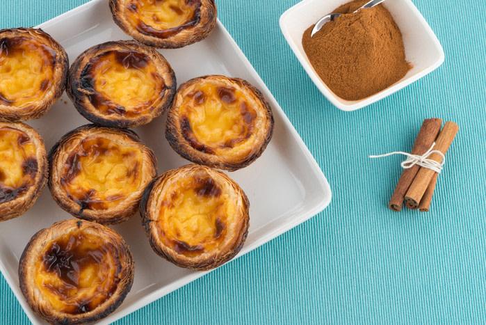 Comida portuguesa: pasteles de belén