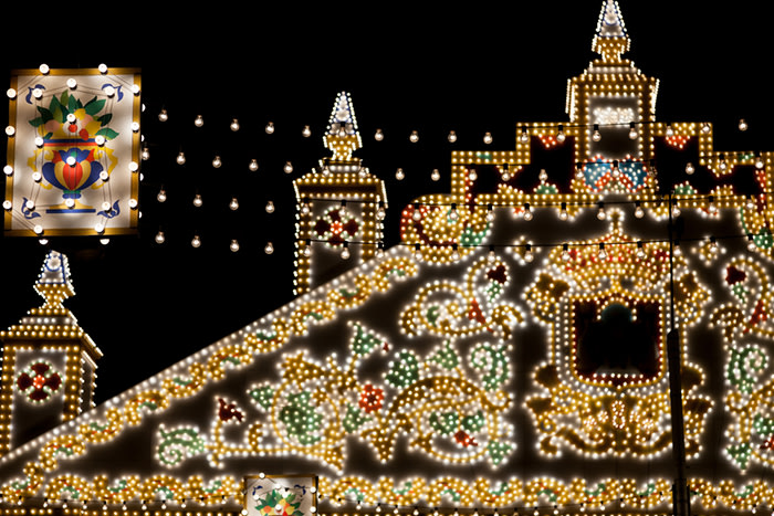 Feria de sevilla: luces