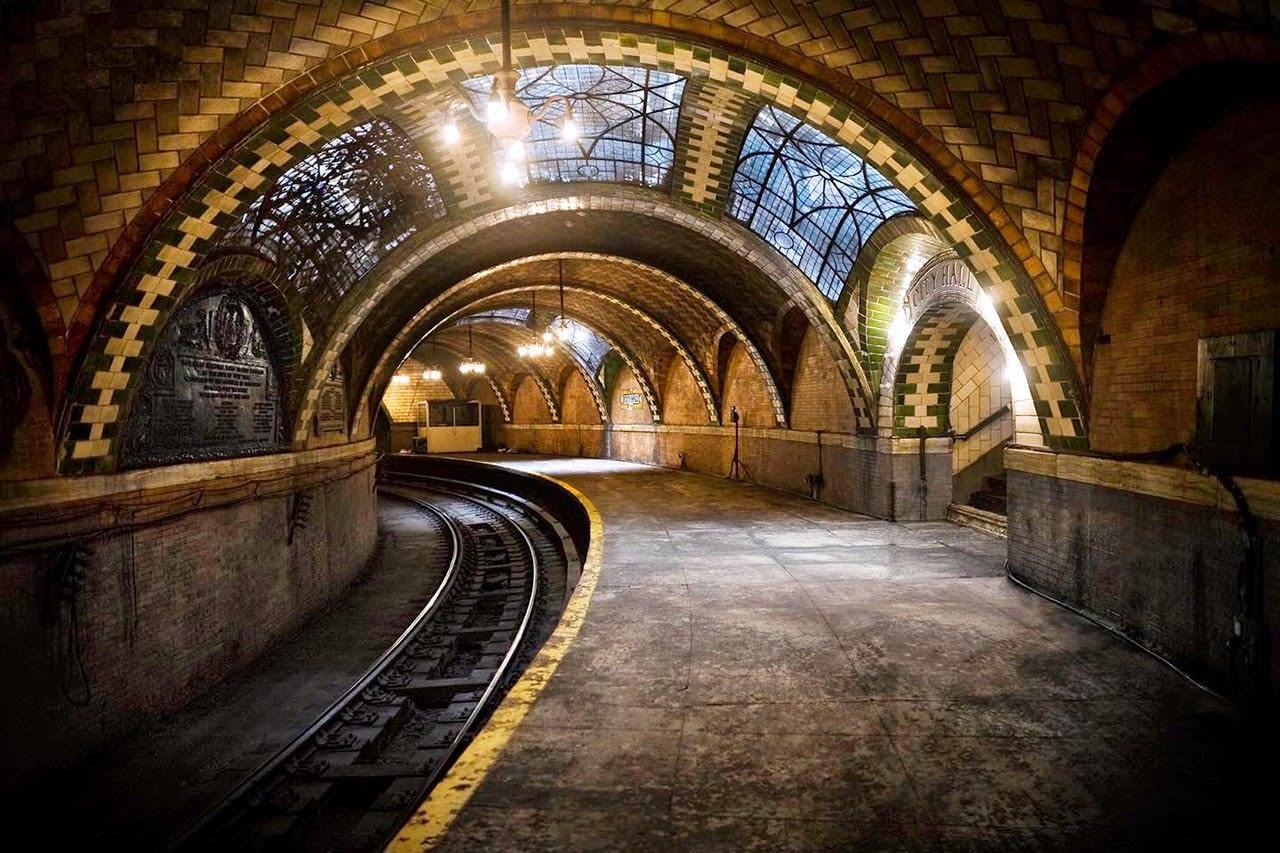 City Hall Subway Station a New York