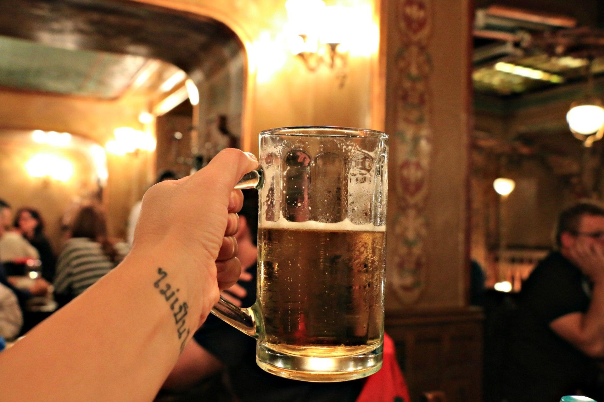 Bucarest, Romania, birra