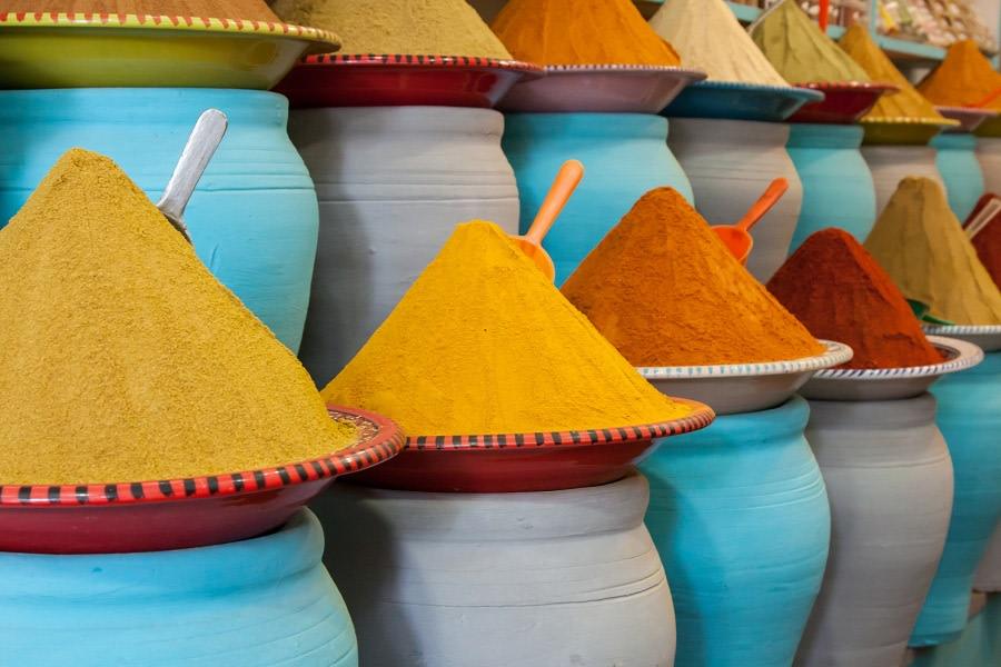 Le spezie di Marrakech