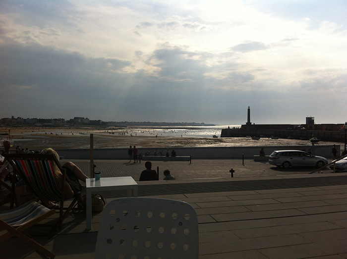 View from the Turner Contemporary terrace (c) Kirsten Beacock