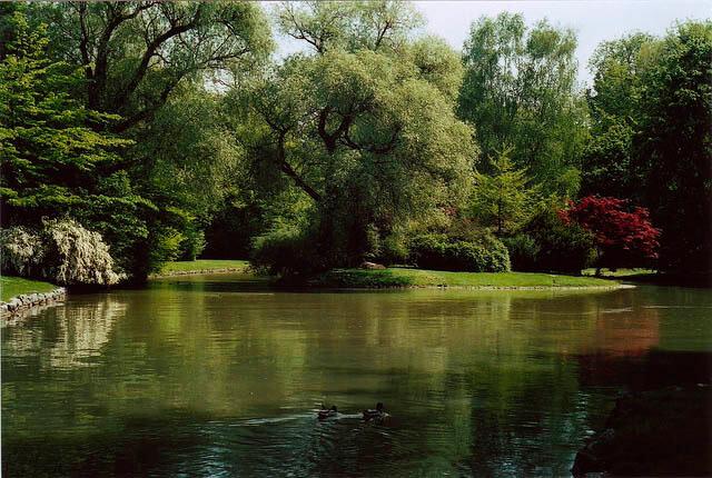 Englischer Garten munich alemania