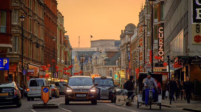 Shaftesbury Avenue. Image by Pedro Szekely via Flickr Creative Commons