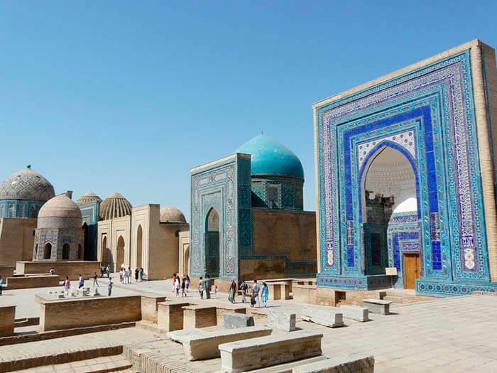 samarkanda en uzbequistan