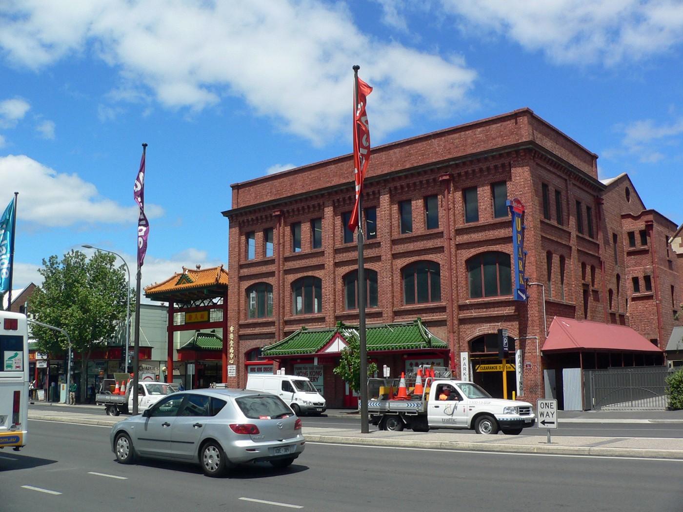 Adelaide, ingresso di Chinatown