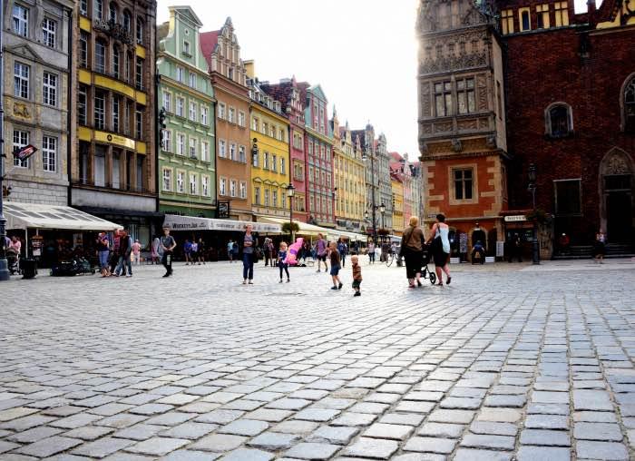 wroclaw piazza mercato cosa vedere