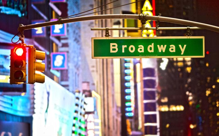 Lugares de película en nueva york: Broadway